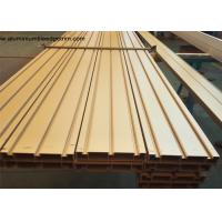 Elegant Ti Gold Aluminium Door Profiles / Heavy Sliding Door Outer Frame Extrusions Manufactures