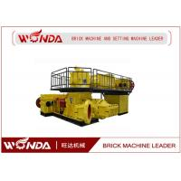JZK 60 / 60 - 4.0 Vacuum Brick Extruder  Steel Clay Automatic Brick Making Machine Manufactures