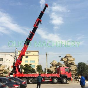 Mobile 80t Semi Knuckle Boom Lorry Mounted Crane Manufactures