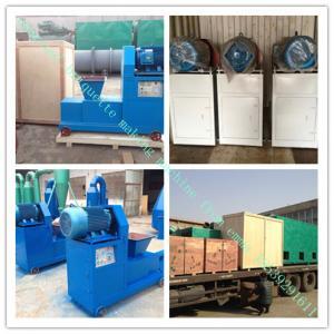 China BRQ popular 100-300kg/h charcoal briquette extruder machine on sale