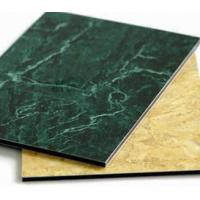 PVDF aluminum composite panel 3mm*1220mm*2440mm gold,red,green,blue Manufactures