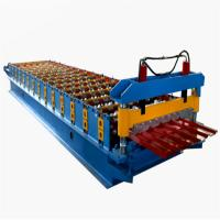 China Hot Selling Roofing Sheet Making Machine Hydraulic 5T Corrugated Roll Forming Machine Roof Panel Roll Forming Machine on sale