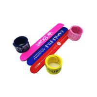 Light Weight Silicone Slap Wristband Silk Screen Logo Processing Magnetic Clap Bands Manufactures