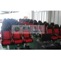 Movie Motion Theater Chair With Pnuematic Control System For Indoor Manufactures
