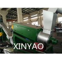 High Speed Frication Plastic Washing Line 22 - 45KW , Plastic Recycling Machinery Manufactures