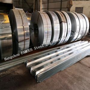 China 1.2mm Gauge Galvanized Steel Decking Formwork to Bottom of Concrete Slab on sale