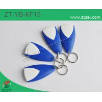 ABS key tag/keyfob/keyring,Model:ZT-YB-KF15, Size: 59×30×10mm Manufactures