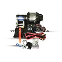 12V 4000 LB Electric ATV Winch 4x4 Off Road Synthetic Electric Winch Rope With Accessories Manufactures