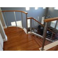 DIY Cable Railing / Wire Rope Balustrade with Stainless Steel Wire Ropes Manufactures