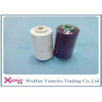 100% Spun Polyester Yarn 1.33D * 38mm Sewing Thread 40S/2 For Sewing Manufactures