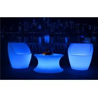 Commercial LED Nightclub Furniture Infrared Remote Control RGBW LED Light Chair Manufactures