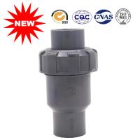 Custom Plastic Ball Valve Bottom Valve Pvc Water Pipe Connectors High Efficiency Manufactures