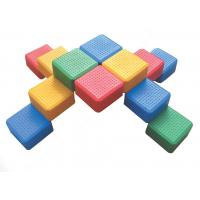 Toddler Outdoor Plastic Building Blocks Toy in Park H-19202 Manufactures