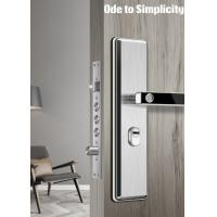 China Anti Theft Semiconductor Fingerprint Door Lock Stainless Steel Material Made on sale