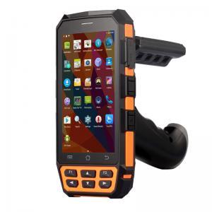 Long Range Handheld RFID Reader Android 5.1.1 Bluetooth Barcode Scanner IP65 Manufactures