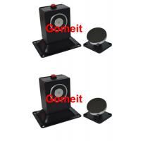 Floor Mounted 12VDC Electromagnetic Door Holder 60kgs 130lbs Holding Force Manufactures
