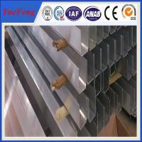u-shapes profil aluminum extrusion manufacture, industrial aluminum extrusion in china Manufactures