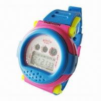 Kids Plastic Watch with Digital Display, Plastic Band, More Colors and logos are Available Manufactures