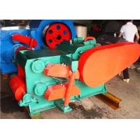 55kw Automatic Drum Wood Chipper , 30mm Wood Chipping Machine Manufactures