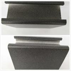 Black Extruded Aluminum Electronics Enclosure / Electrolytic Coated Aluminum Alloy Profiles Manufactures