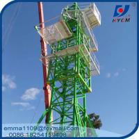 China Tower Crane QTZ 125 6018 2*3M Potain Mast Sections Save Container Cost on sale