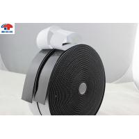China Strong Sticky hook and loop fastener tape Black Adhesive Back hook & loop tape wholesale