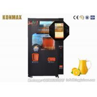 China Coin - Operated Automatic Juice Vending Machine , Fruit Vending Machine on sale