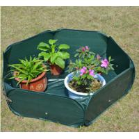 Pop Up Raised Garden Plant Accessories Bed120gsm PE, 210D oxford PVC coated, 1.2x4mm steelwire rods  121x121x30cm Manufactures