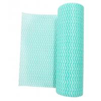 China Plain Soft Anti Bacteria Household Cleaning Wipes Rolls for Bathroom or Window on sale