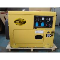 Commercial Super Quiet Small Diesel Generators Air Cooled 912 X 532 X 740 mm Manufactures