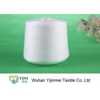 Good Color Fastness 100% Polyester Spun Yarn Sewing Thread On Plastic Tube / Paper Core Manufactures