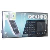 China Rii Mini 2.4G Wireless Keyboard with Touchpad Laser Pointer Rechargeable Li-ion (RT-MWK01) on sale