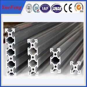 Quality roller lines industrial extruded aluminium profiles, aluminium t-slot extrusion for sale