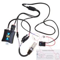 China Dustproof 8000k All in One Hid Xenon Kit H4 / H7 / H8 , Hid Conversion Kit on sale
