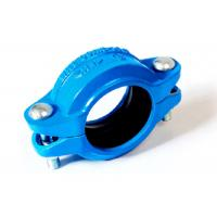 China Ductile iron flexible couplings for victaulic grooved piping system 350psi 21bar on sale