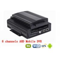China 8CH Hard Disk H.264 WIFI car dvr vehicle camera video recorder AHD 720P 3G GPS on sale