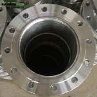 China ASTM 6 5 / 8 Inch Water Well Accessories Stainless Steel Flanges Short Pipes on sale