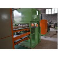Reciprocating Type Paper Egg Tray Making Machine , Egg Tray Production Line Manufactures