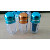 Male Enhancement Pill Vial Plastic Pill Bottles / Sex Pill Container Manufactures