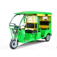 1000W Electric Powered Tricycle Fiber Roof Open Passenger Tricycle With Foot Brake Manufactures