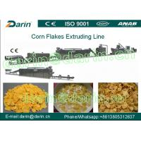Automatic Corn Flakes Processing Line , Cereal Breakfast Home Popcorn Machine Manufactures