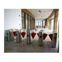 China High Bidirectional Turnstile Full Automatic Flap Pedestrian Half Height Turnstiles Barrier Gate on sale
