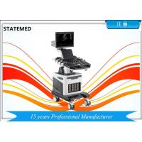 China 19 Inch LED Trolley Ultrasound Scanner Color Doppler Ultrasound Machine Four Probe Interface on sale