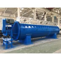 Buy cheap Horizontal Sludge Drying Equipment / Rotary Steam Tube Dryer Poultry Waste Disc from wholesalers