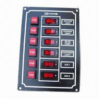 Switch Panel with Four Standard Fasteners Manufactures