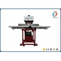 Red Automatic Heat Press MachineTextile Hydraulic Double Working Position Manufactures