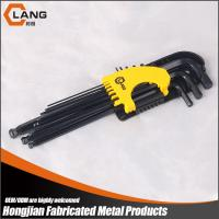 9Pcs Extra long Black Oxide Ball End Allen Key Set Manufactures