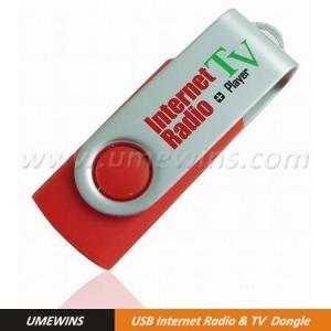 USB Worldwide Internet Radio & TV Dongle (Model#RT-0033) Manufactures