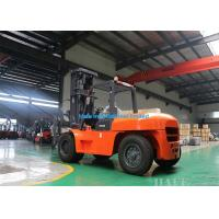 Timber Industry Forklift Lifting Device , Industrial Lift Truck 2 Stage 3m Mast Manufactures