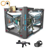 Buy cheap Multiplayer shooting 9d vr flight game experience center 9d vr simulator from wholesalers